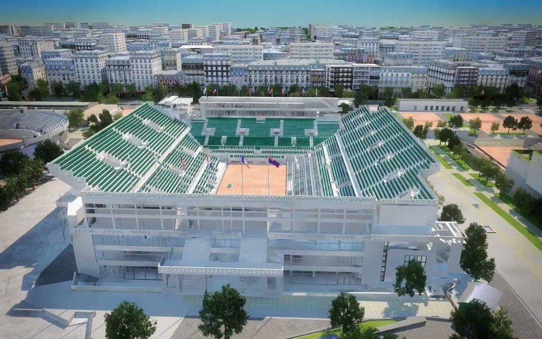 FunBIM is deployed on Roland Garros